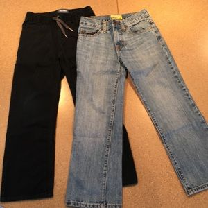 Bundle of boys jeans